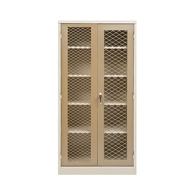 Stationery Cupboard with Mesh Doors | SC003