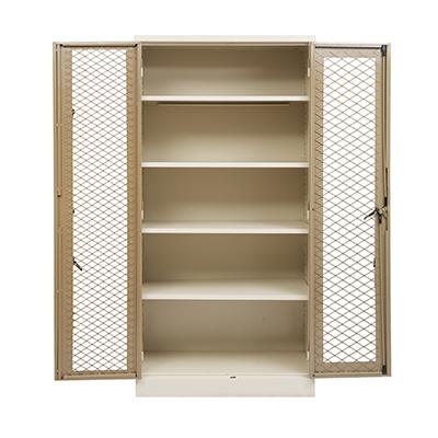 1800 Cupboard With Mesh Doors