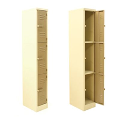 3 Compartment Locker | LOC003