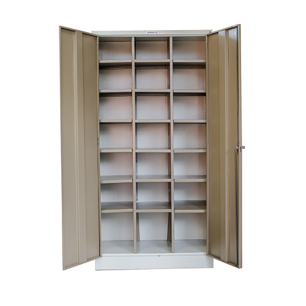 Triple H Display Shelving Lockers Steel Office Furniture South Africa Desks_0005_stationery cupboard 21 pigeon hole
