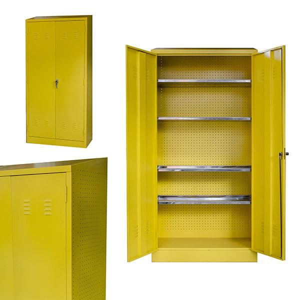 Triple H Display Shelving Lockers Steel Office Furniture South Africa Desks_0007_chemical cupboard sloping roof shelves
