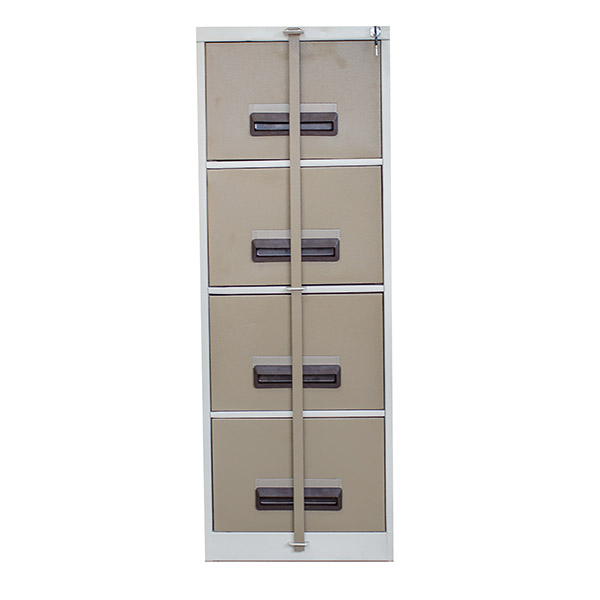 Triple H Display Shelving Lockers Steel Office Furniture South Africa drawer units_0001_4 DRAWER FILING CABINET with sec
