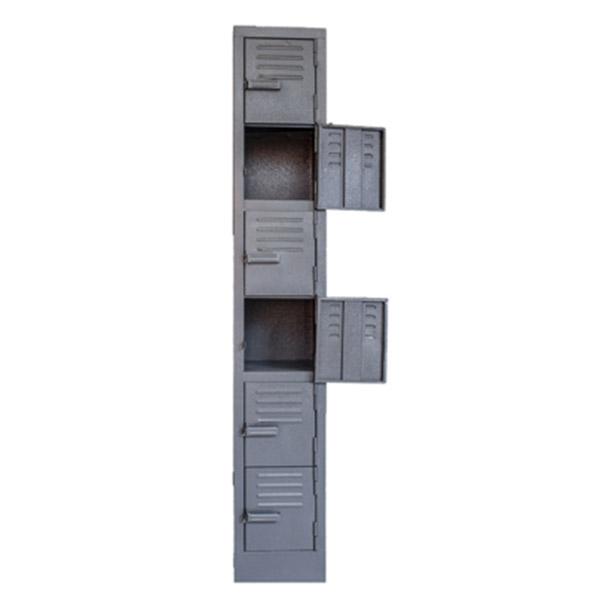 Triple H Display Shelving Lockers Steel Office Furniture South Africa_0005_six door locker grey