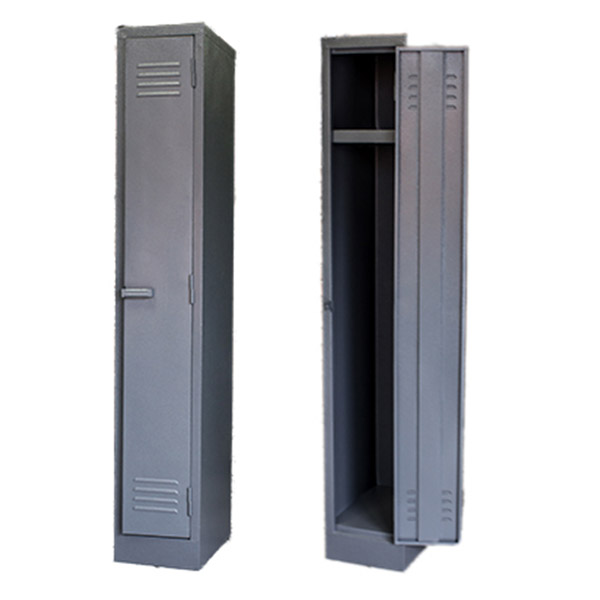 Triple H Display Shelving Lockers Steel Office Furniture South Africa_0007_single door locker grey