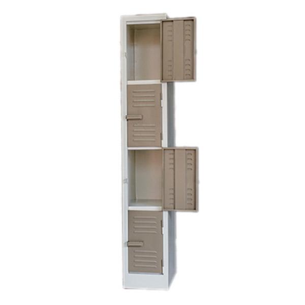 Triple H Display Shelving Lockers Steel Office Furniture South Africa_0009_four door locker ivory