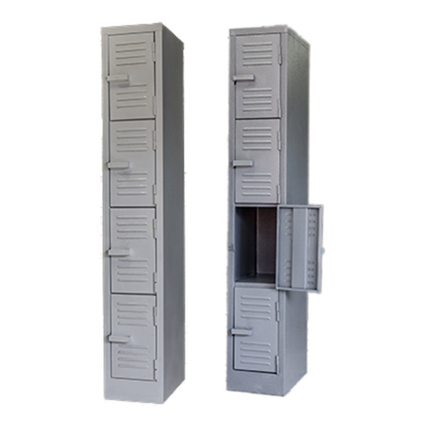 Triple H Display Shelving Lockers Steel Office Furniture South Africa_0010_four door locker grey