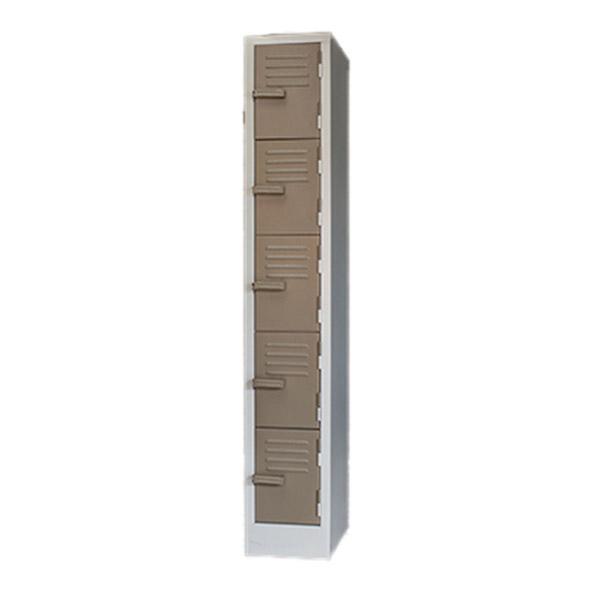 Triple H Display Shelving Lockers Steel Office Furniture South Africa_0011_five door locker ivory