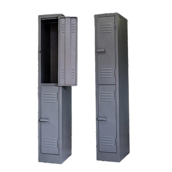 Triple H Display Shelving Lockers Steel Office Furniture South Africa_0014_double door locker grey
