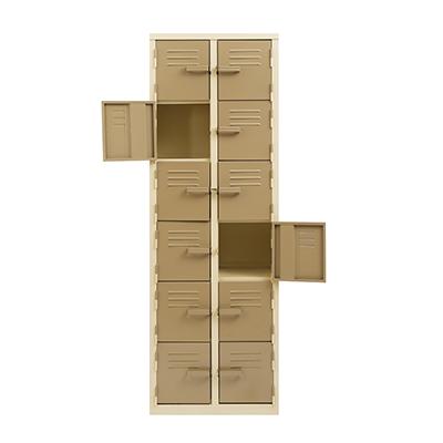 Twelve Compartment Locker