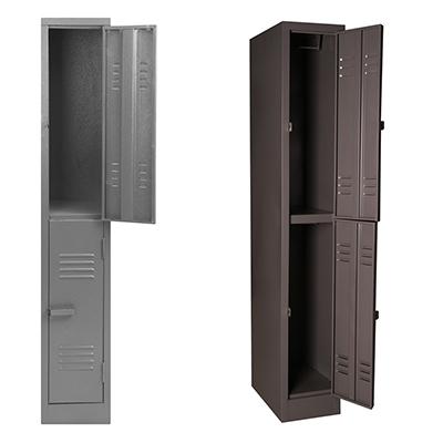 Two Door Locker Grey