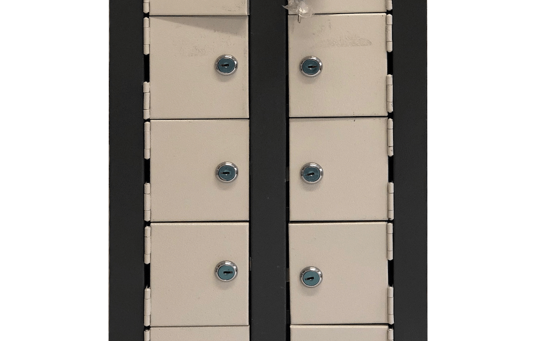 10 Compartment Cell Phone Locker