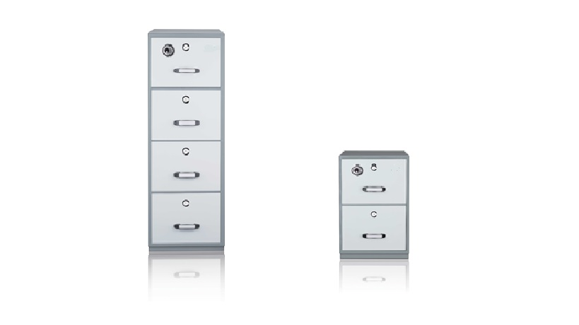 Fire Resistant 4 Drawer & 2 Drawer
