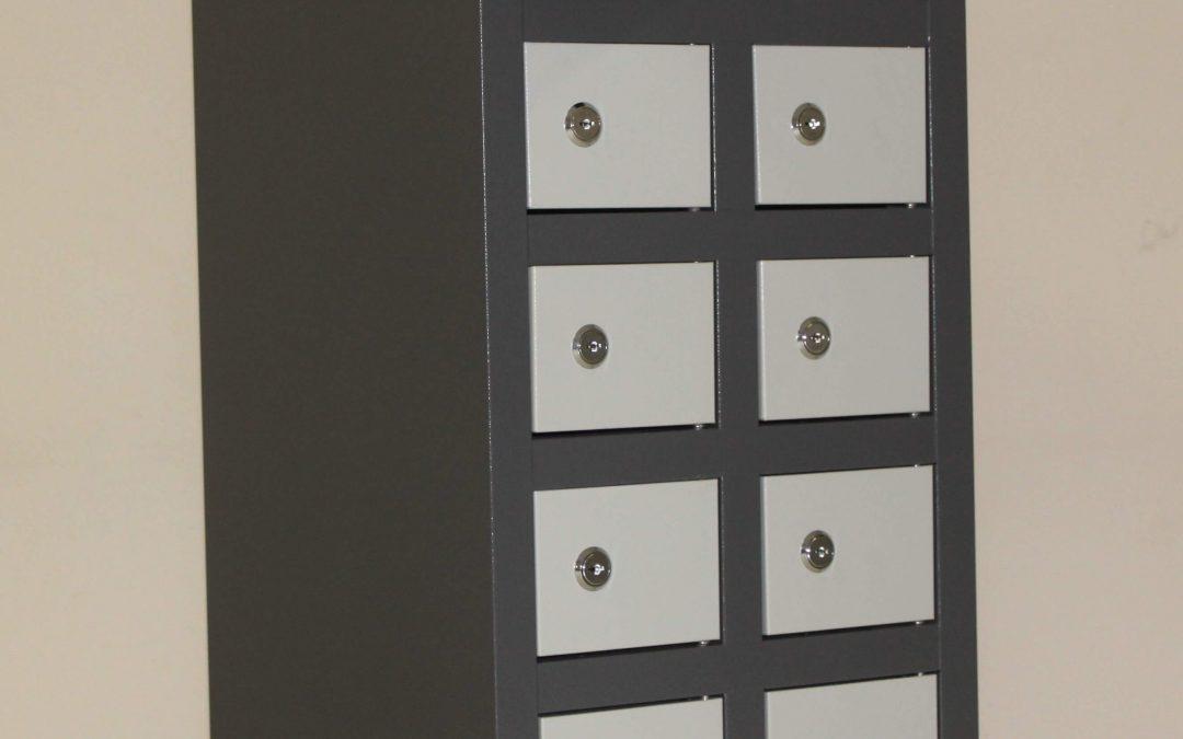 10 Compartment Cellphone Locker