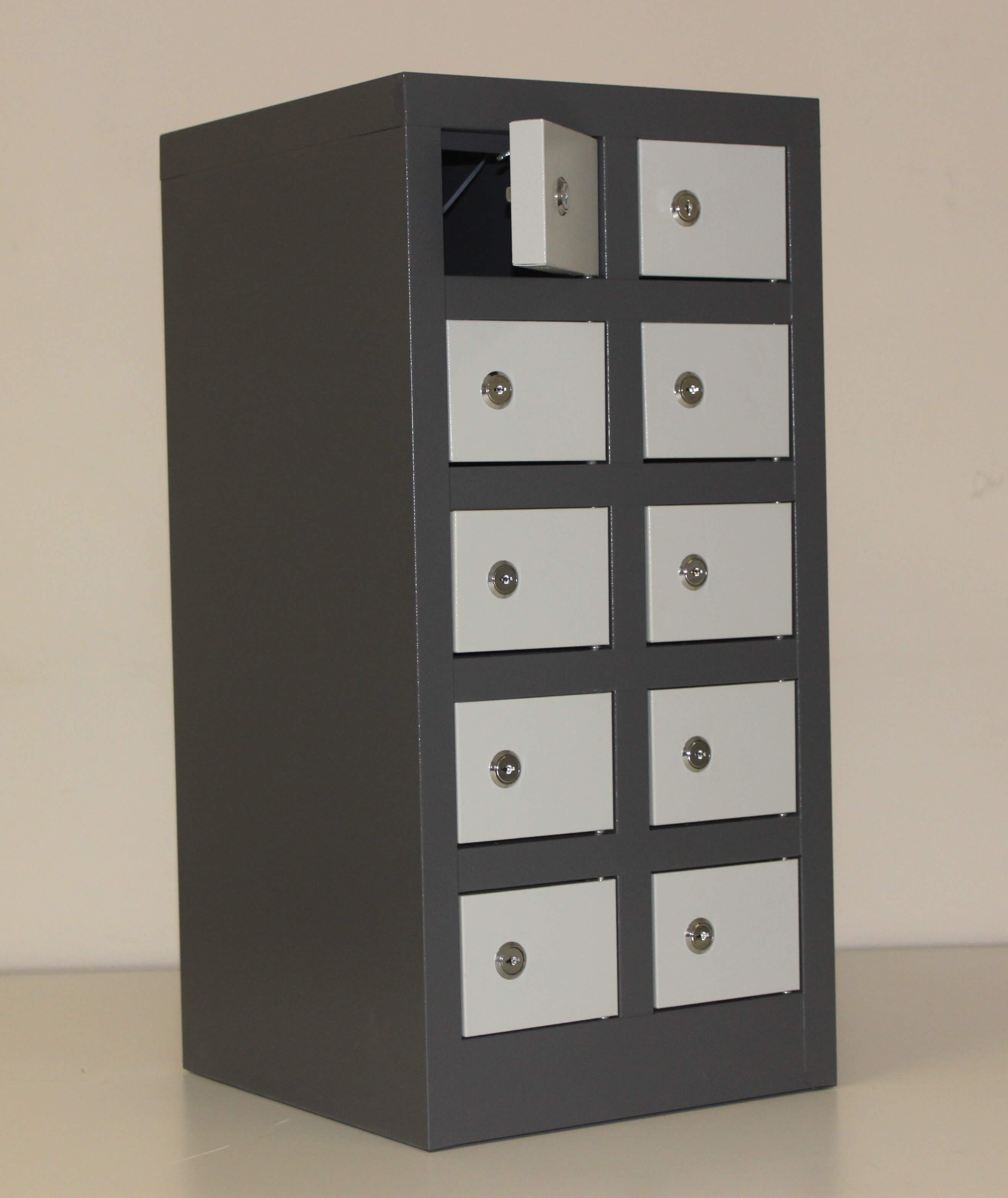 10 Compartment Cellphone Locker