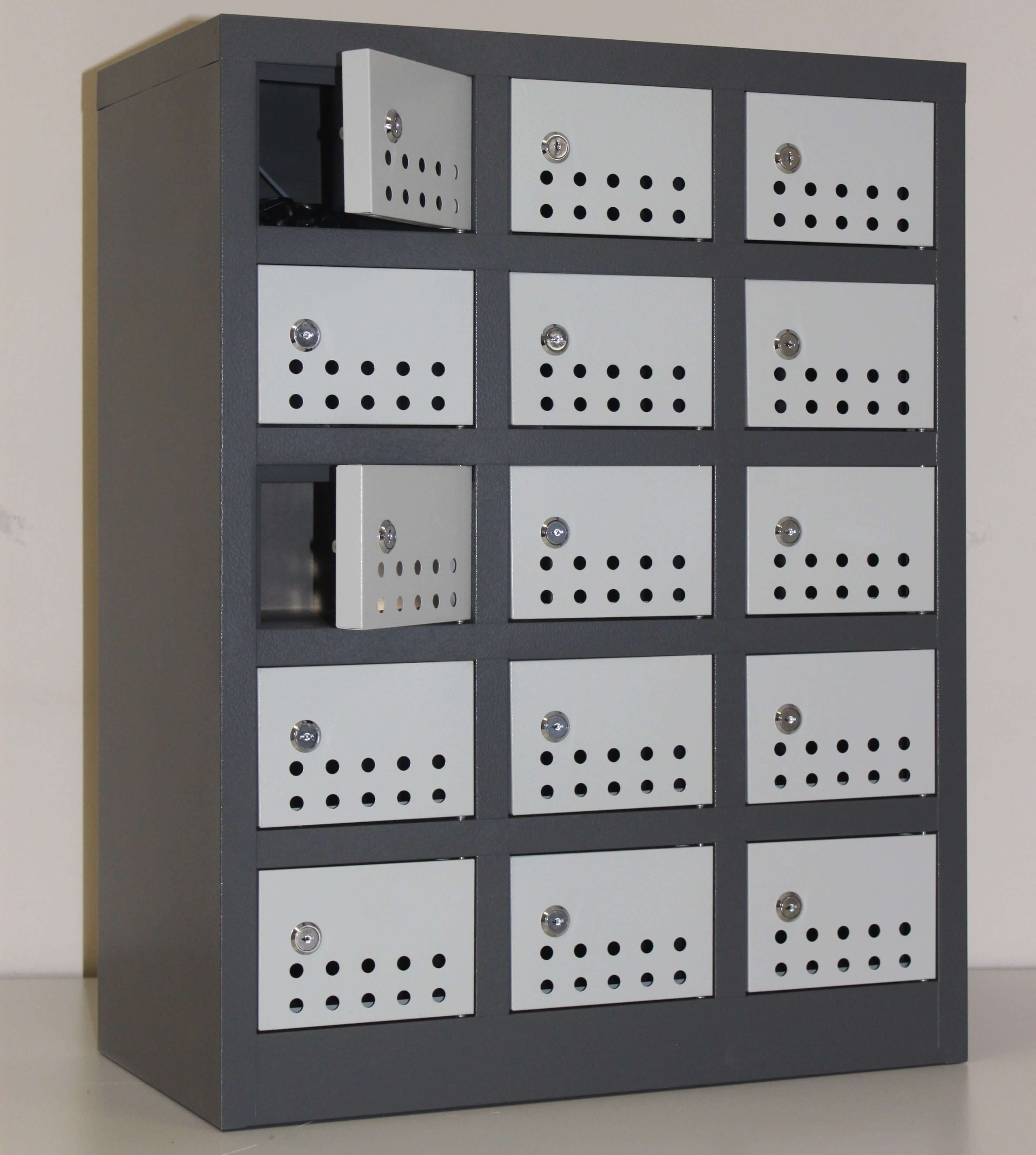 15 Compartment Cellphone Locker