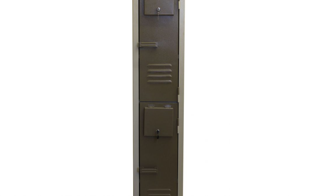 2 Tier Locker With Lockable Flap (under lockers)